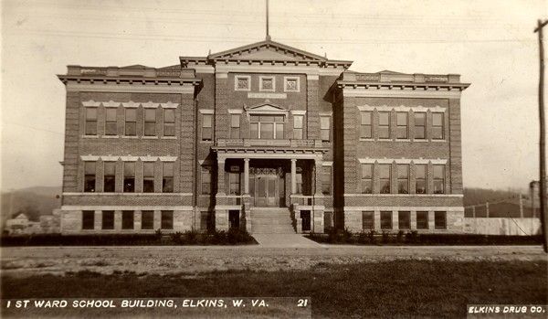 First Ward School Postcard