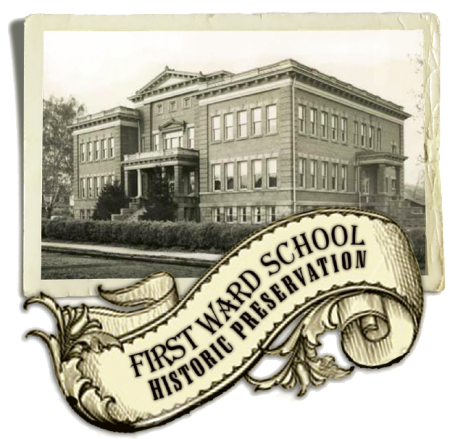 First Ward School Banner Logo