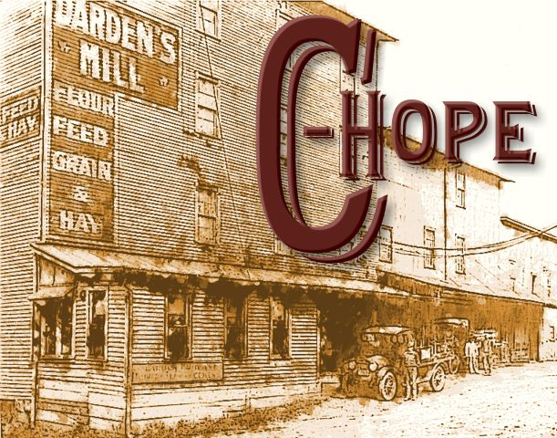 Darden Mill 1920's with CHope logo
